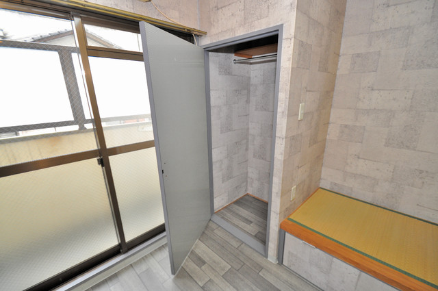 エスポアール春日Ⅱ もちろん収納スペースも確保。いたれりつくせりのお部屋です。