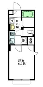 仮称 東中野5丁目建築計画2階Fの間取り画像