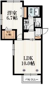 メゾン ド イロンデル3階Fの間取り画像