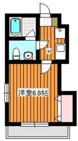 東武練馬駅 徒歩18分2階Fの間取り画像