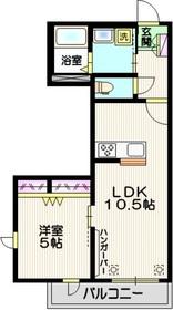 マ・メゾン・トキワ2階Fの間取り画像