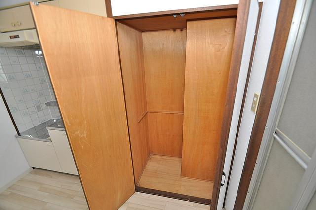 メゾン・ダイコー もちろん収納スペースも確保。おかげでお部屋の中がスッキリ。