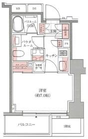 アトラス西早稲田3階Fの間取り画像