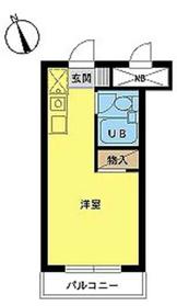 スカイコート新宿第64階Fの間取り画像