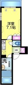 メゾン・グラン・ルポン4階Fの間取り画像