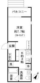W-HOUSEⅢ2階Fの間取り画像