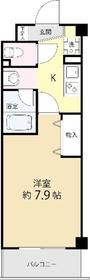 AZ本郷菊坂4階Fの間取り画像