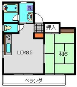 POMODORI3階Fの間取り画像