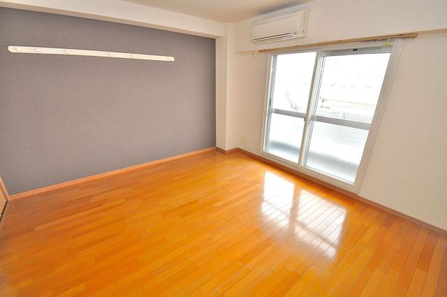 グランデージ長田東 明るいお部屋はゆったりとしていて、心地よい空間です