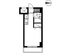 スカイコート西川口第87階Fの間取り画像