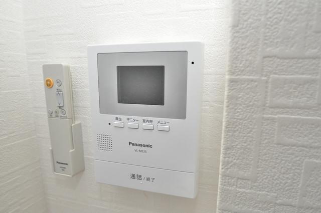 リンクスイン東大阪Part2 TVモニターホンは必須ですね。扉は誰か確認してから開けて下さいね