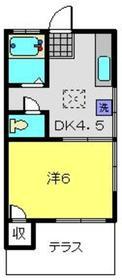 元住吉駅 徒歩22分1階Fの間取り画像