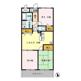 ストークマンション3階Fの間取り画像