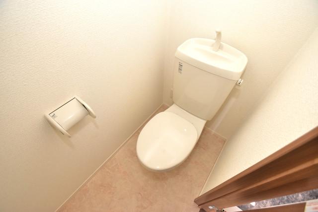 ラヴィ・クレール 清潔感のある爽やかなトイレ。誰もがリラックスできる空間です。