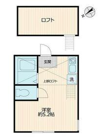 G・Aパーク鶴ヶ峰1階Fの間取り画像