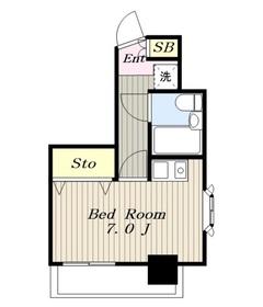 成瀬駅 徒歩25分9階Fの間取り画像