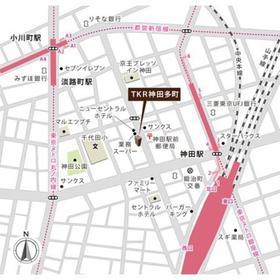 TKR神田多町案内図