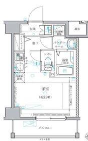 レグラス横濱保土ヶ谷4階Fの間取り画像