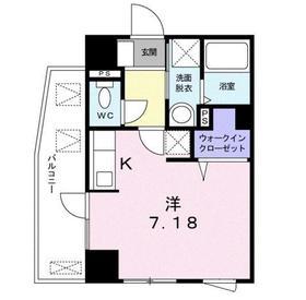 ステージ グラシア2階Fの間取り画像