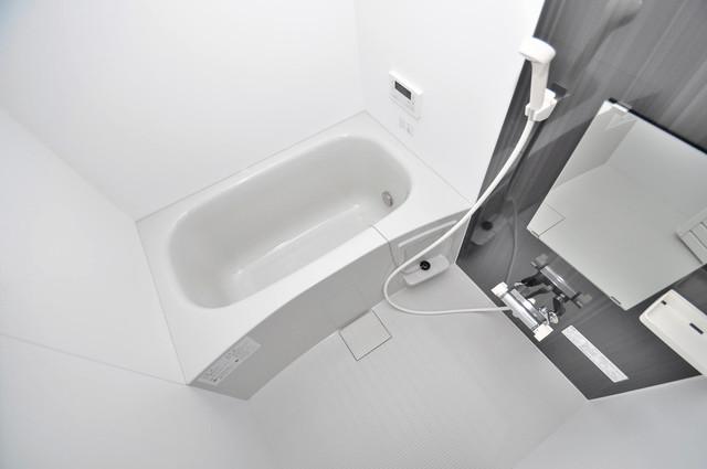 アネシス小路 ちょうどいいサイズのお風呂です。お掃除も楽にできますよ。
