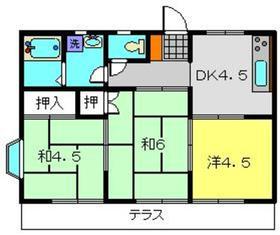 下瀬谷ハイツ第31階Fの間取り画像