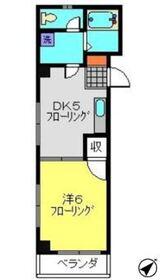 エクセレントハイム2階Fの間取り画像