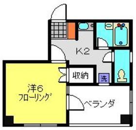 てぃだ横浜3階Fの間取り画像