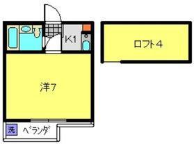 ララ二俣川No12階Fの間取り画像