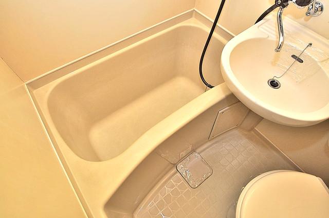プレステイジ緑橋 単身さんにちょうどいいサイズのバスルーム。