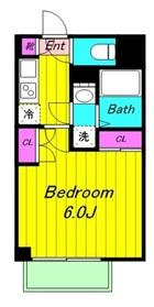 宿河原駅 徒歩4分1階Fの間取り画像