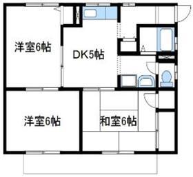 グリーンハウスB1階Fの間取り画像