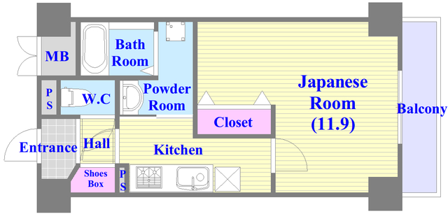 トリニティ東野 この間取りなら、嬉しいゆったり空間が実感できるかも。