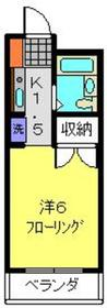 新川崎駅 バス12分「南加瀬交差点」徒歩2分1階Fの間取り画像