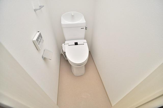 Fmaison verdeⅡ(エフ メゾン ベルデ) 清潔感のある爽やかなトイレ。誰もがリラックスできる空間です。