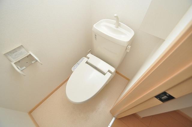 セレンディピティ・ちゅらヴィラ キレイに清掃されたトイレは清潔感があり気分もよくなります。
