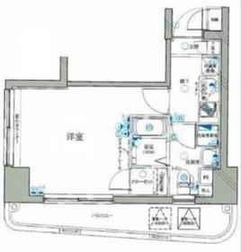 レグラス横浜西口3階Fの間取り画像