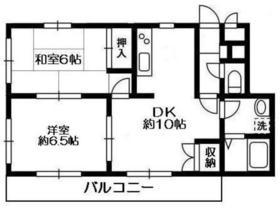 サンスクエアTSURUMI B2階Fの間取り画像
