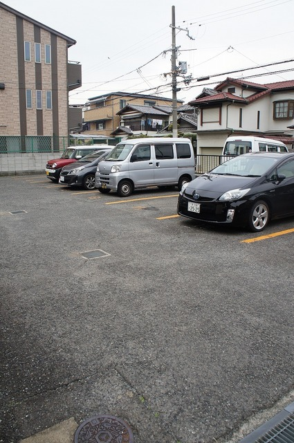 敷地内駐車場♪