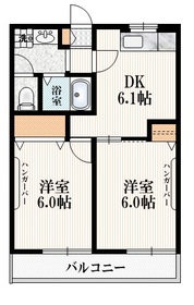 仙川駅 徒歩7分1階Fの間取り画像