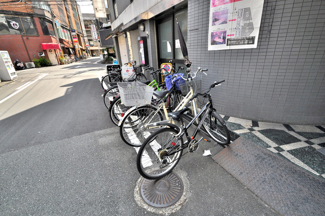 シティハイツ布施 あなたの大事な自転車も安心してとめることができますね。