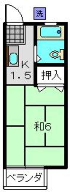 堀井ハイツ間取図