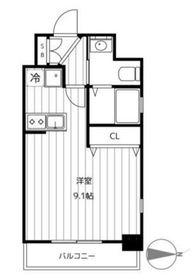 セントジェームス5階Fの間取り画像
