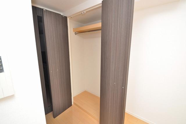 CASSIA高井田SouthCourt 大きなクローゼットはたくさんの衣装もスッキリ片付きます。