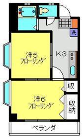 KI MOTOSUMIⅡ3階Fの間取り画像