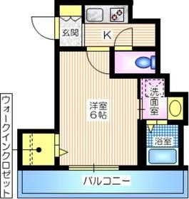 ao yokohama1階Fの間取り画像