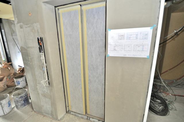 グランエクラ田島 エレベーター付き。これで重たい荷物があっても安心ですね。