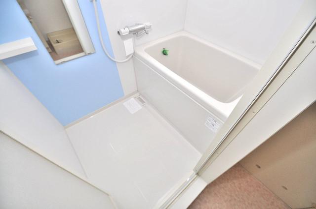 グランドメゾン樋口 機能的なバスルームはトイレと別々なので、広々としていますよ。