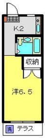 ストークハイツ岡崎1階Fの間取り画像