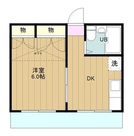 高座渋谷駅 徒歩22分2階Fの間取り画像