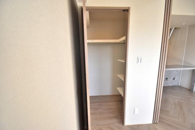 PHOENIX Clove Tomoi もちろん収納スペースも確保。いたれりつくせりのお部屋です。